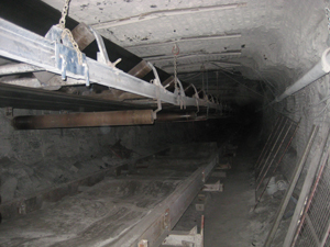 Pioneer Conveyor - underground conveyor 1
